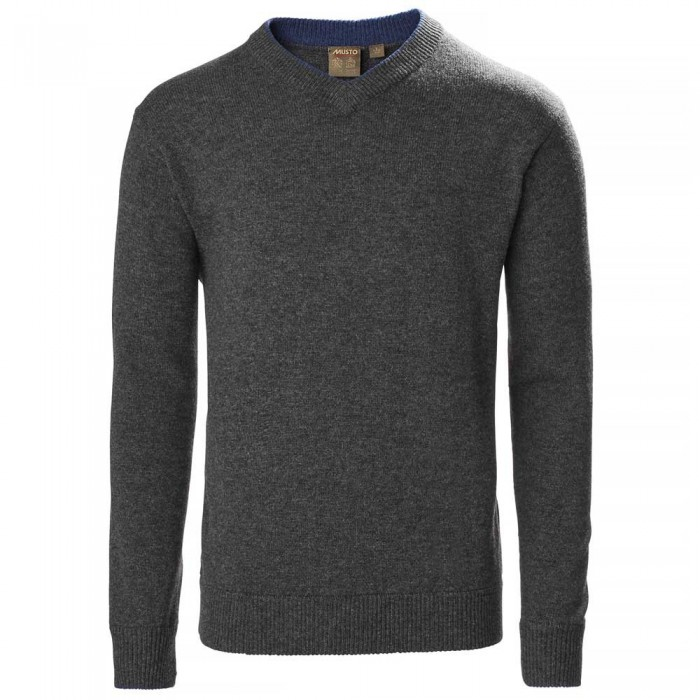 [해외]무스토 Country V Knit 137651966 Charcoal