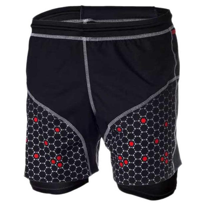[해외]SURAL Tronador III Short 6136074009 Black / White / Red