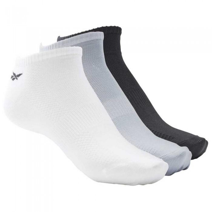 [해외]리복 Tech Style Tr M 3 Pair 7137644990 White / Meteor Grey / Black