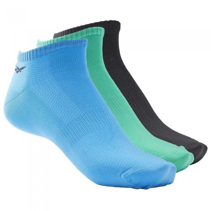 [해외]리복 Tech Style Tr M 3 Pair 7137645122 Horizon Blue / Black / Court Green