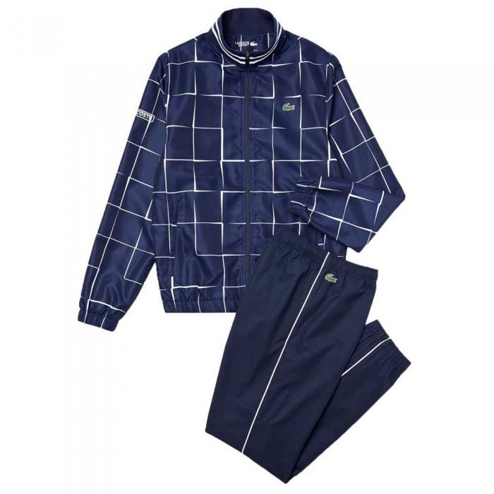 [해외]라코스테 Sport Lightweight Print 7137685359 Navy Blue / White