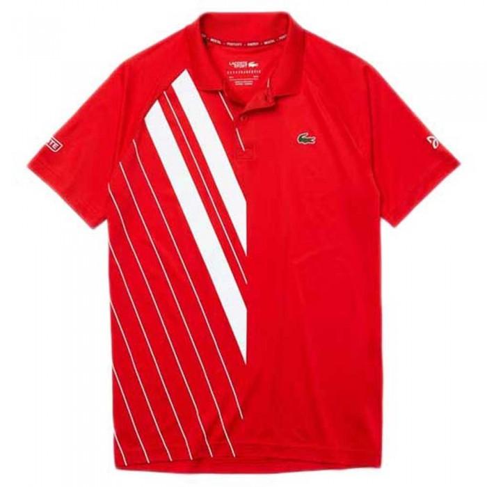 [해외]라코스테 Sport Djokovic Stretch Ribbed 7137685036 Red / White