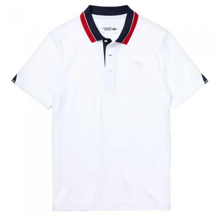 [해외]라코스테 Sport Breathable Golf 7137685042 White / Navy Blue / Red