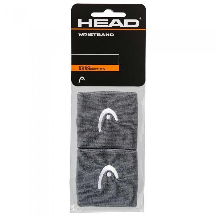[해외]헤드 RACKET Wristband 2.5´´ 12137301694 Anthracite