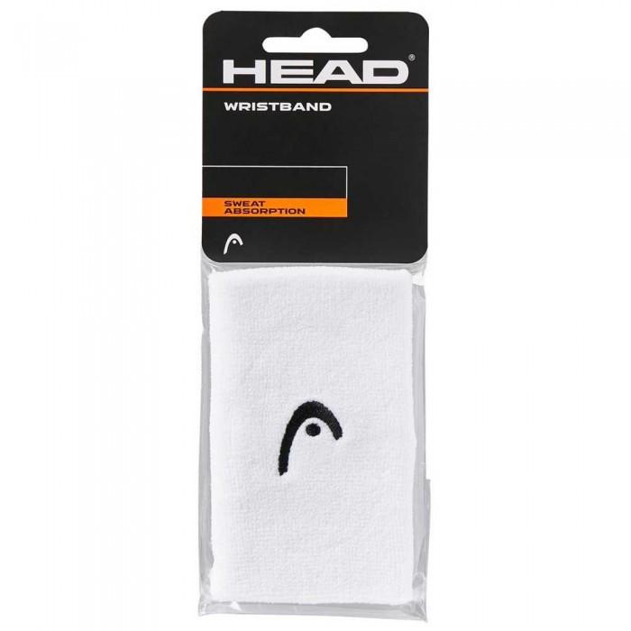 [해외]헤드 RACKET Wristband 5´´ 12137301709 White