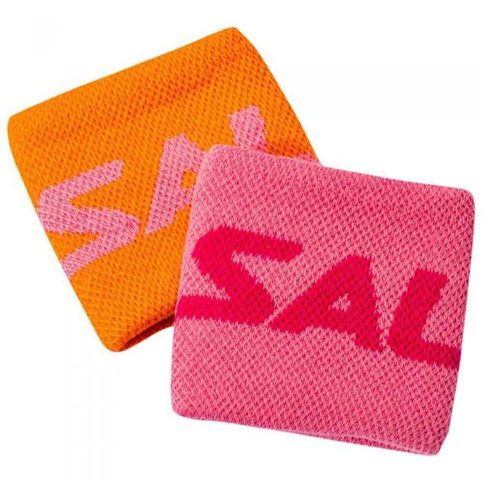 [해외]살밍 Wristband Short 2 Units 12137606069 Orange / Pink