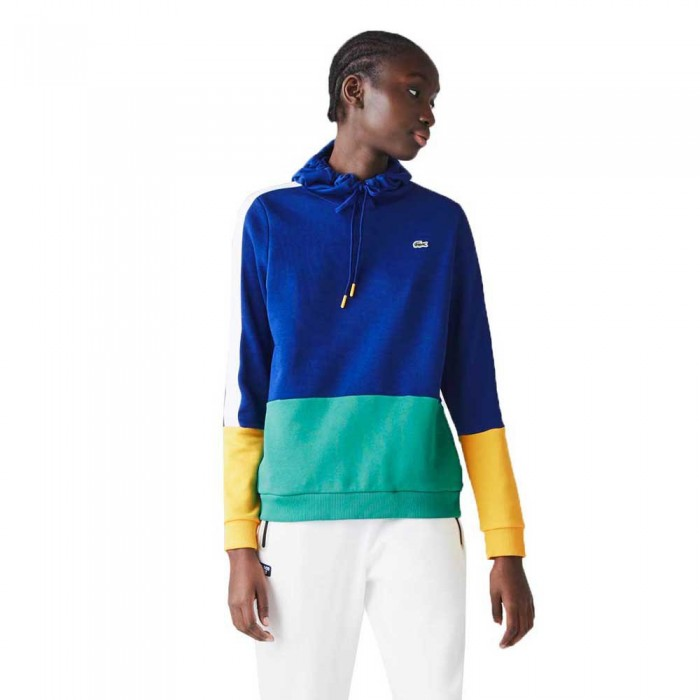 [해외]라코스테 Sport Colourblock 12137685183 Blue / White / Yellow / Green