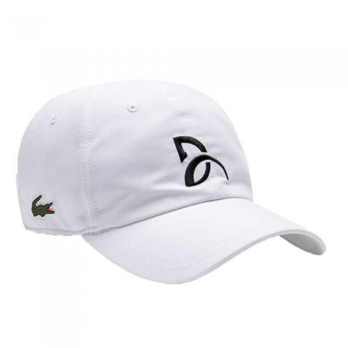 [해외]라코스테 Sport Cap 12137685169 White / Navy Blue