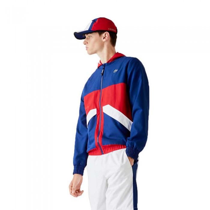[해외]라코스테 Sport Colourblock 12137685000 Blue / Red / White