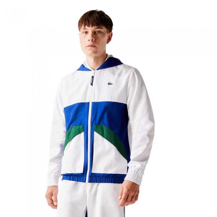 [해외]라코스테 Sport Colourblock 12137685001 White / Blue / Green