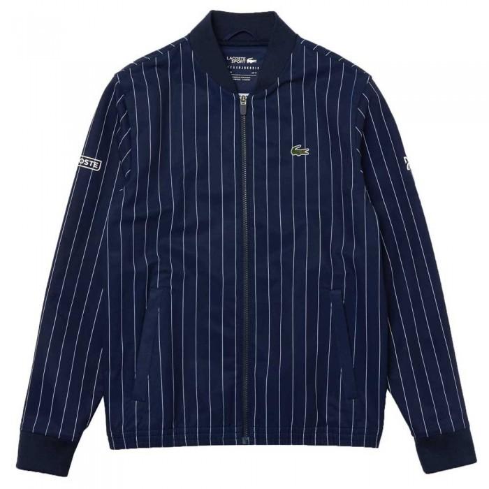 [해외]라코스테 Sport Novak Djokovic Print 12137685003 Navy Blue / White