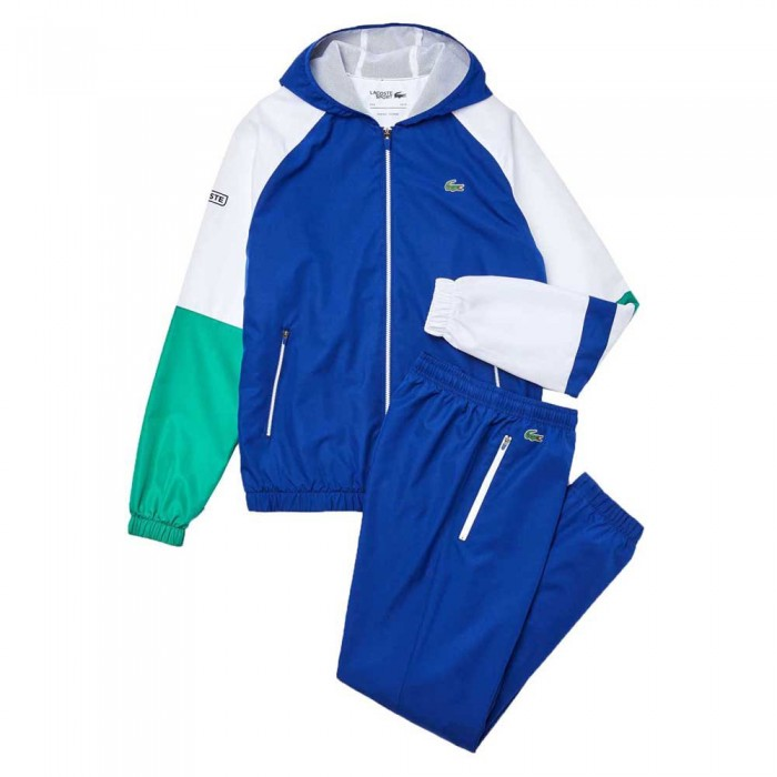 [해외]라코스테 Sport Lightweight Colourblock 12137685354 Blue / White / Green / Black
