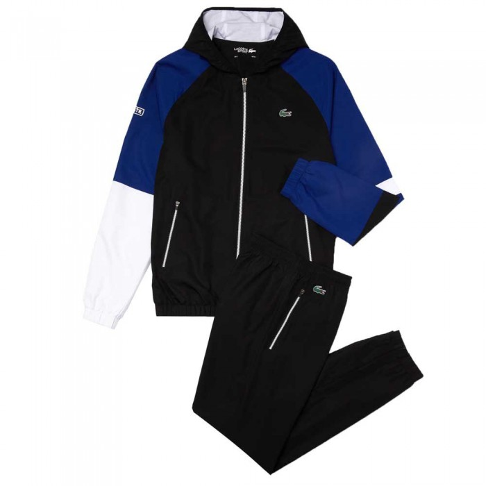 [해외]라코스테 Sport Lightweight Colourblock 12137685355 Black / Blue / White / White