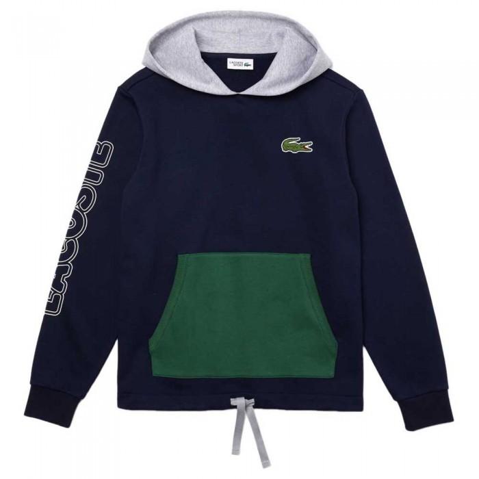 [해외]라코스테 Sport Colourblock 12137648580 Navy Blue / Grey Chine / Green