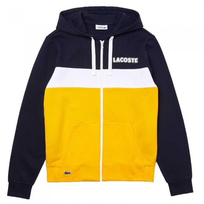[해외]라코스테 Sport Colourblock 12137685214 Navy Blue / Yellow / Yellow / White