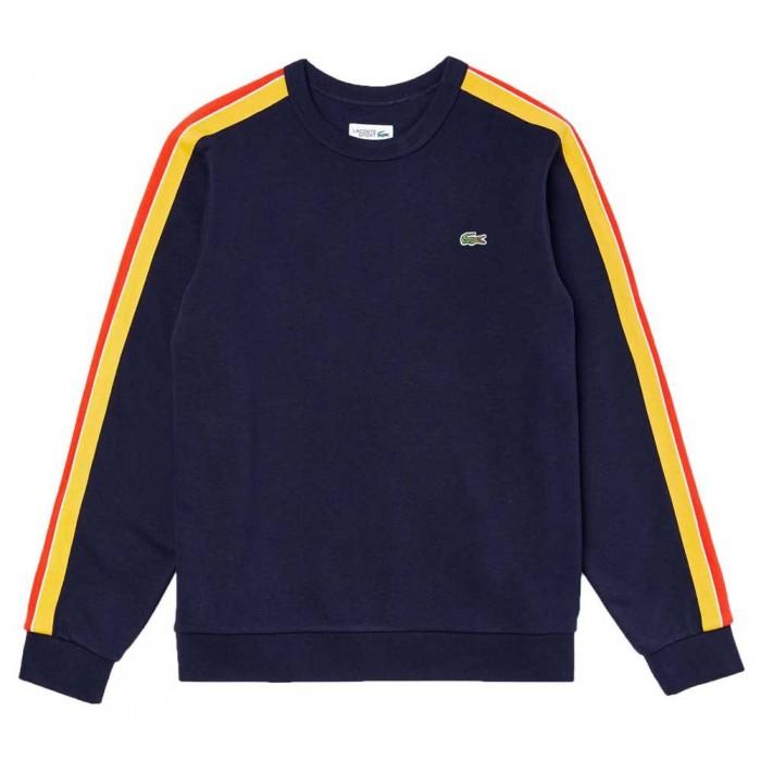 [해외]라코스테 Sport Contrast Bands 12137685233 Navy Blue / Yellow / Red / Ultramarine
