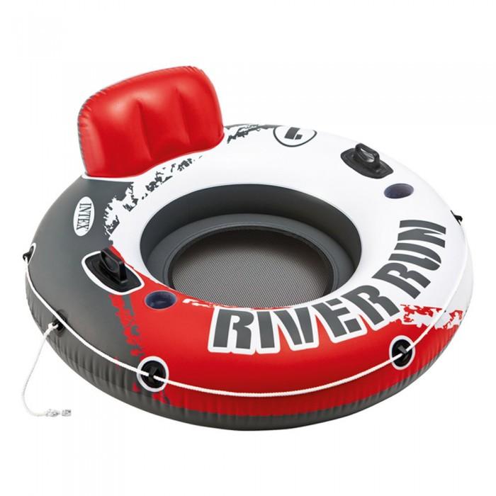 [해외]인텍스 River Run Inflatable Tyre 6137204447 Red