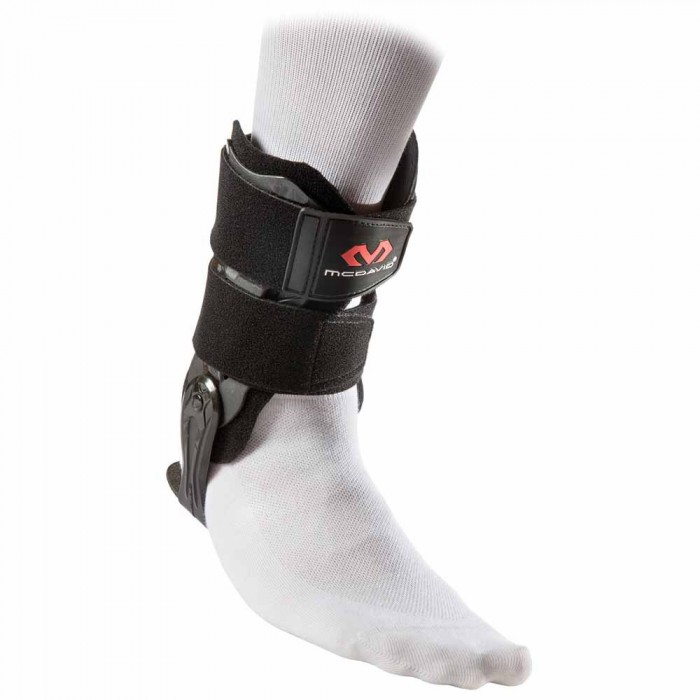 [해외]맥데이비드 Ankle V Brace With Flexible Hinge 7137100048 Black