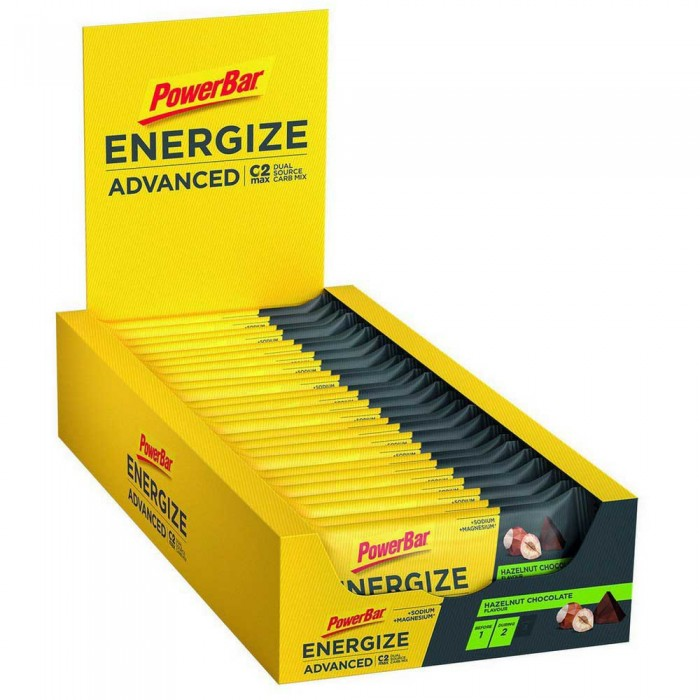 [해외]파워바 Energize Advanced 55gr x 25 Bars 7137740571
