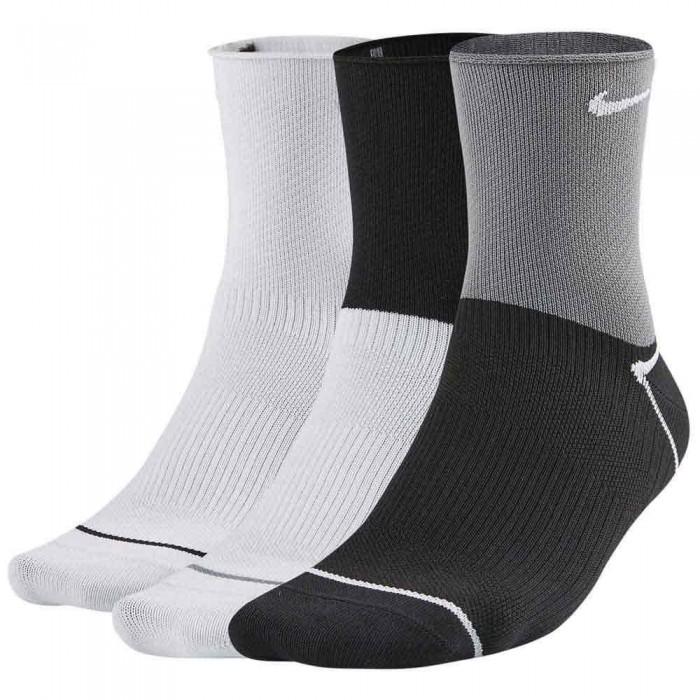 [해외]나이키 Everyday Plus Lightweight Ankle 3 Pairs 7137483547 Multi / Color