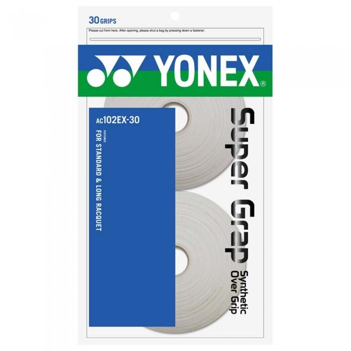 [해외]YONEX Super Grap 30 Units 12137646533 White