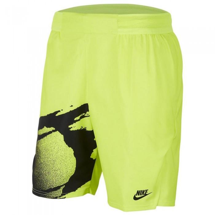 [해외]나이키 Court Slam 12137480119 Hot Lime / Black / Black