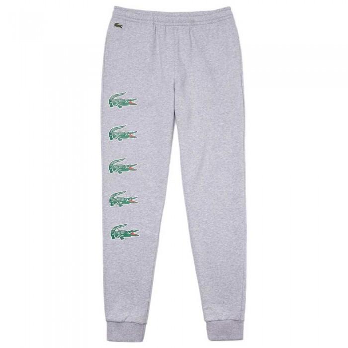 [해외]라코스테 Sport Crocodile Print Jogging 12137648622 Grey Chine