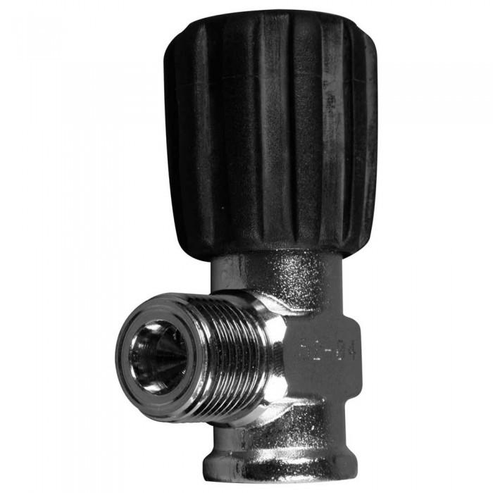 [해외]OMS Inert Gas Valve Comptec W21.8 For Cylinder Threads M18/1.5 10137739580 Silver / Black