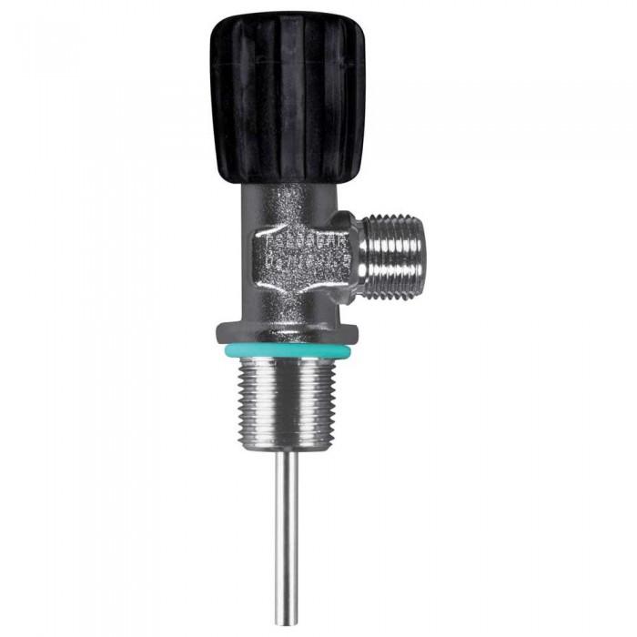 [해외]OMS Inert Gas Valve Comptec W21.8 For Cylinder Threads M25/2 10137739581 Silver / Black