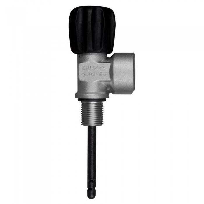 [해외]OMS Comptec DIN Valve 230 Bar Mono M18/1.5 10137739586 Silver / Black
