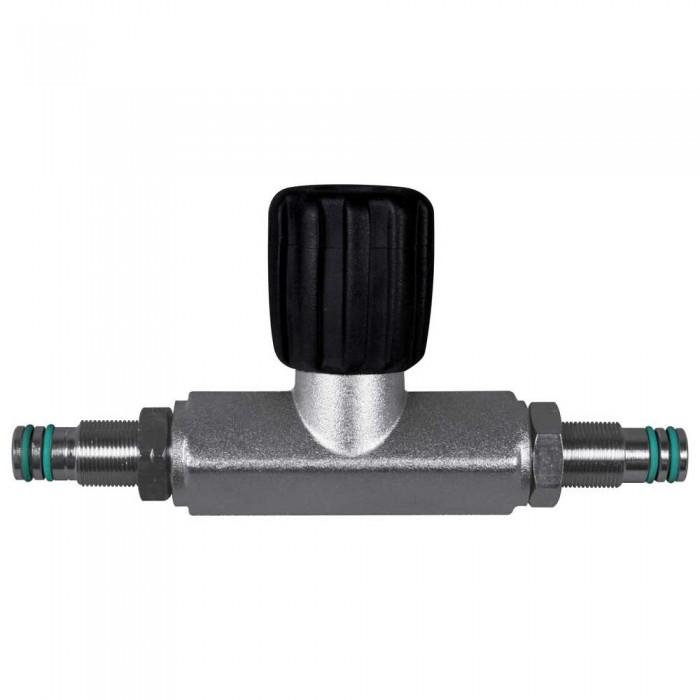[해외]OMS Isolation Manifold For 80Cuft Cylinders Up To 300 Bar 10137739597 Black / Silver