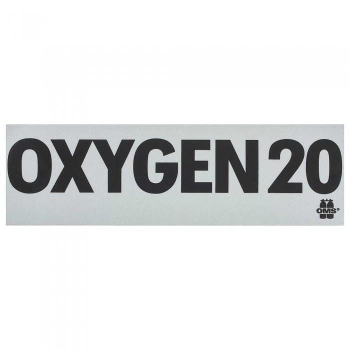 [해외]OMS Mod Decal Oxygen 20 10137739647 White / Black