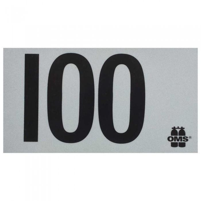 [해외]OMS Mod Decal 100 10137739649 White / Black