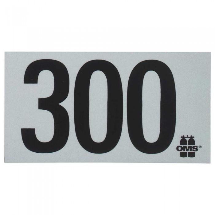 [해외]OMS Mod Decal 300 10137739653 White / Black