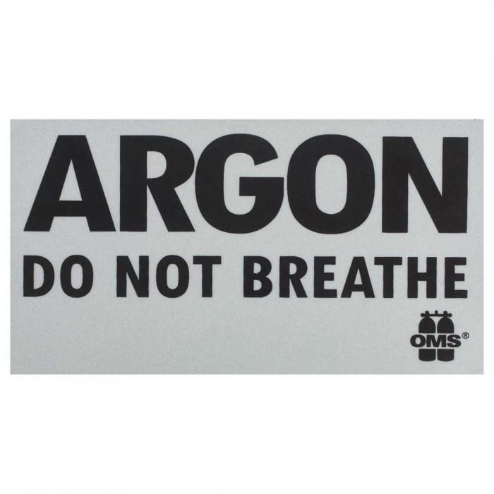 [해외]OMS Inert Gas Do Not Breathe 10137739664 White / Black