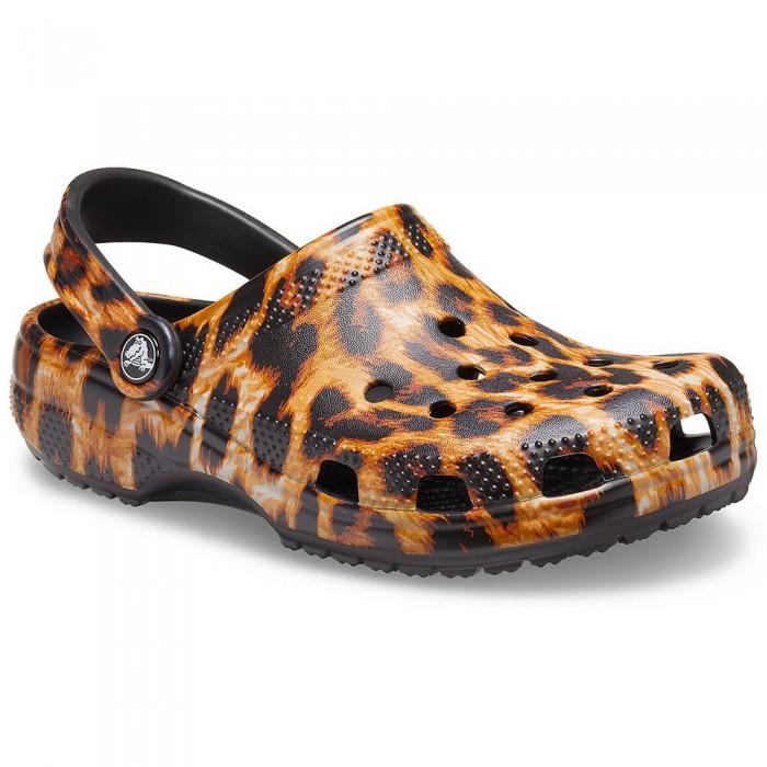 [해외]크록스 Classic Animal Print Man6137720114 Leopard