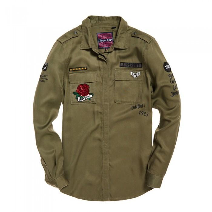 [해외]슈퍼드라이 Emma Military 136702421 Khaki