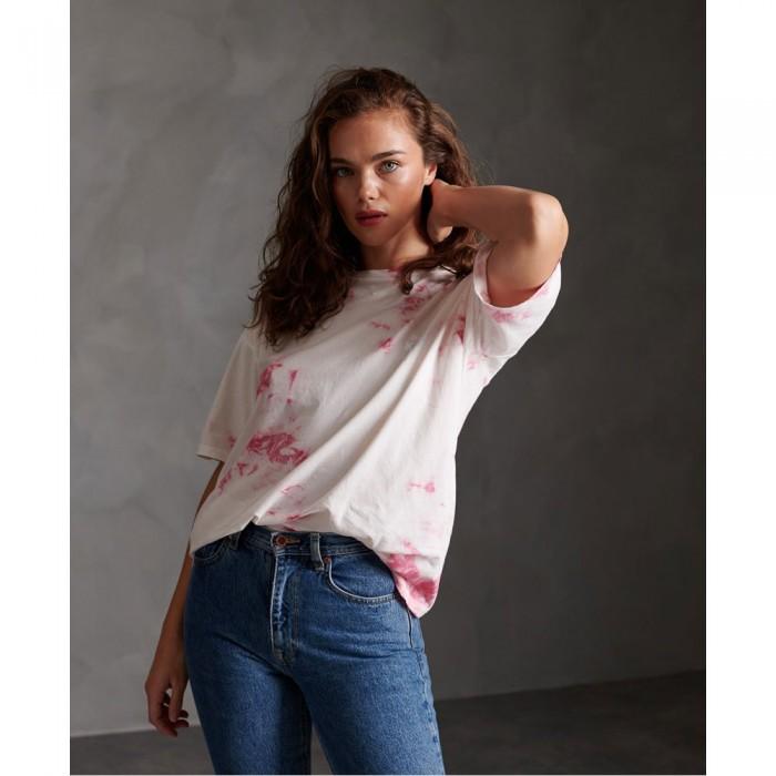 [해외]슈퍼드라이 Summer Tie Dye 137545255 Pink Tie Dye