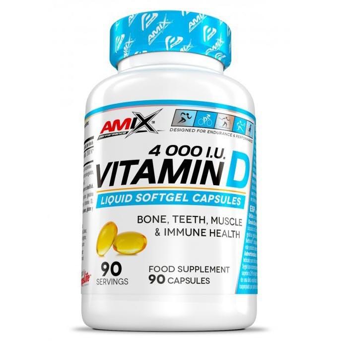 [해외]AMIX Vitamin D 4000 IU 90 Caps 6137520407