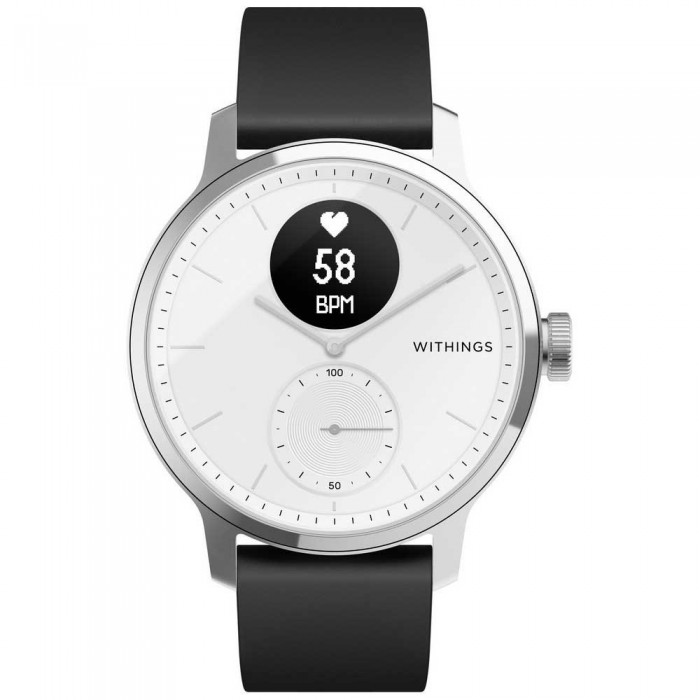 [해외]WITHINGS Scan Watch 42 mm 6137594208 White