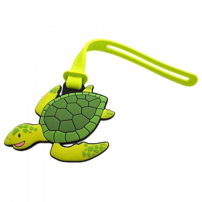 [해외]DIVE INSPIRE Sunny Green Sea Turtle Luggage Tag 10137681481 Green