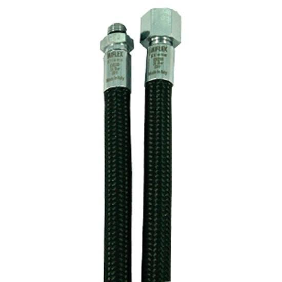 [해외]MIFLEX High-Flexible LP Regulator Hose UNF 3/8 10137739801 Black