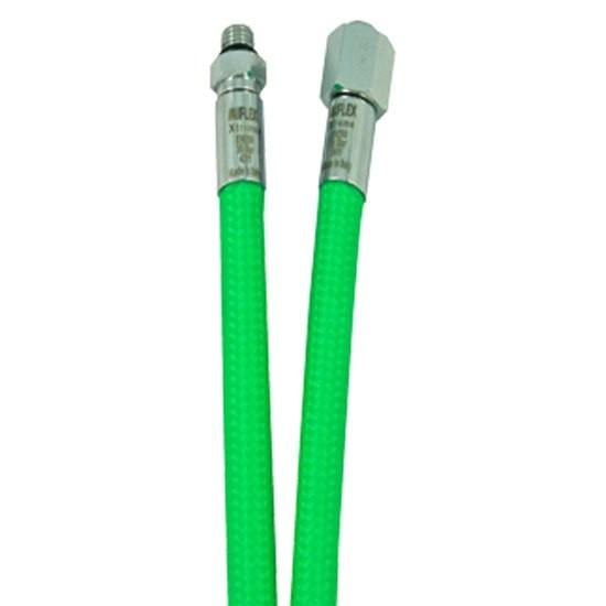 [해외]MIFLEX High-Flexible LP Regulator Hose UNF 3/8 10137739804 Green