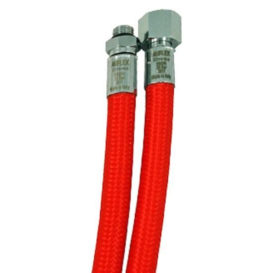 [해외]MIFLEX High-Flexible LP Regulator Hose UNF 3/8 10137739808 Red