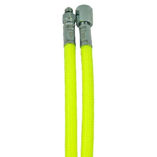 [해외]MIFLEX High-Flexible LP Regulator Hose UNF 3/8 10137739810 Yellow
