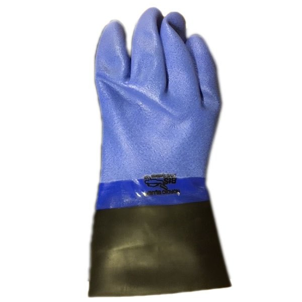 [해외]OMS Dry Gloves With Latex Long Sleeve Seal 10137739711 Blue / Black