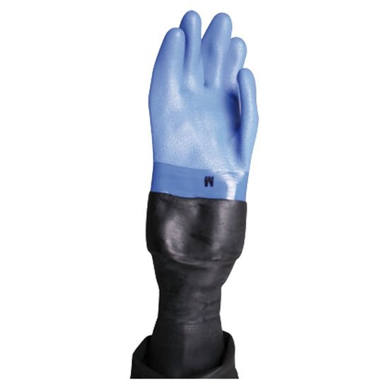 [해외]OMS Dry Gloves With Latex Conical Wrist Seal 10137739712 Blue / Black