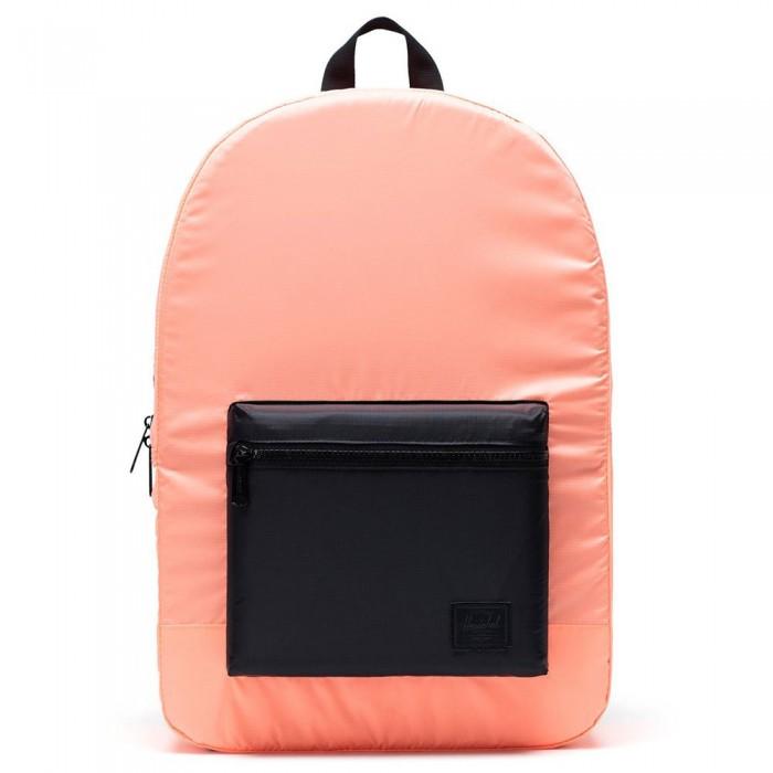 [해외]허쉘 Packable Neon Orange / Black
