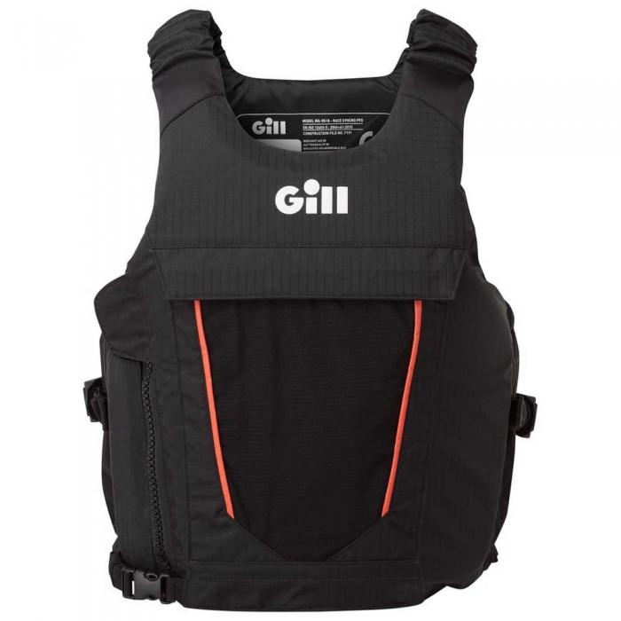 [해외]GILL Race Syncro PFD 14137323367 Black / Orange