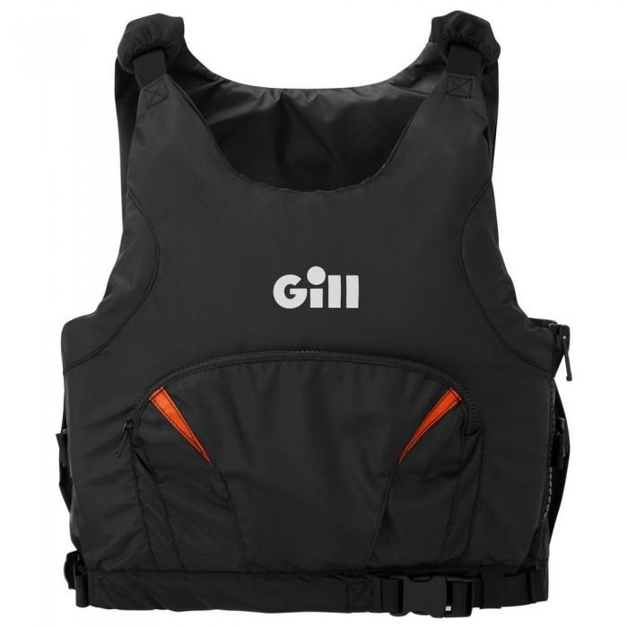 [해외]GILL Pro Racer Side Zip 14137323401 Black / Orange